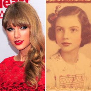 Taylor Swift and her grandmother