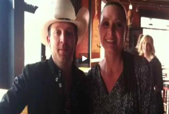 "Justin Moore Sings ""The Friday Song"" With Becca"