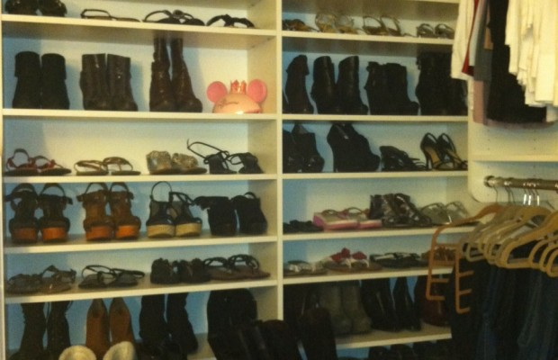 Becca Has A LOT Of Shoes