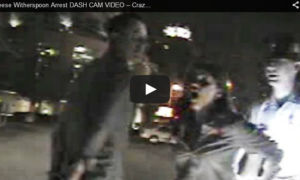 Reese Witherspoon Arrest Video!
