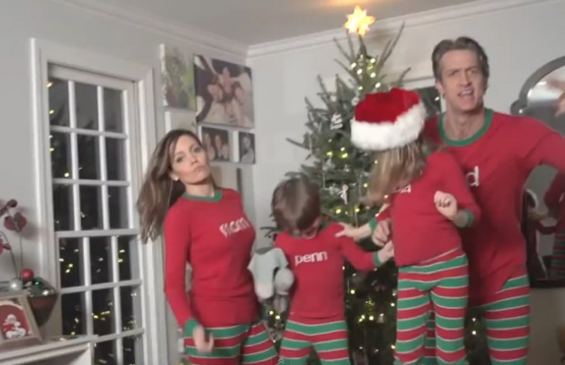 Christmas Card Video Goes Viral