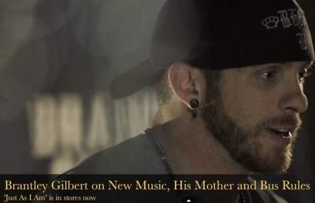 Brantley Gilbert On New Music, His Mother & Bus Rules