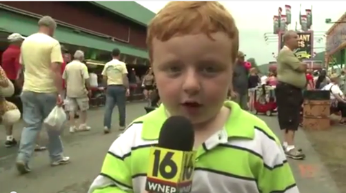This Kid Is Awesome….Apparently!