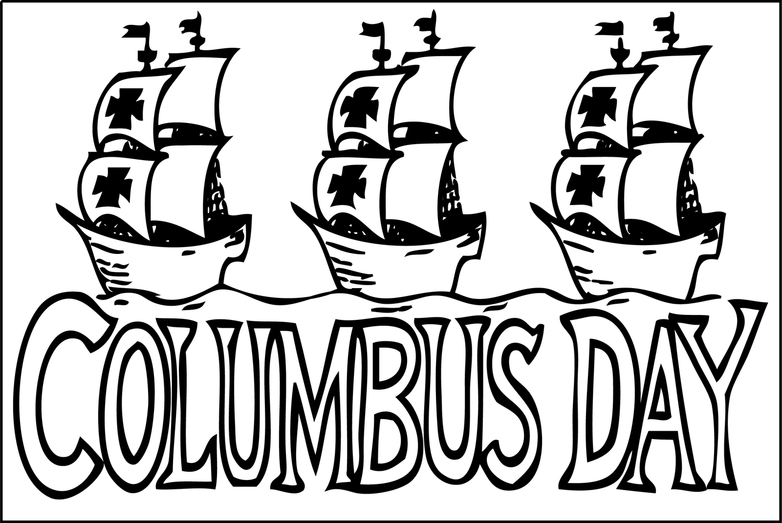 columbus day cartoons